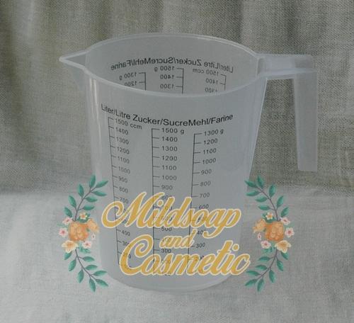 ถ้วยตวงพลาสติก ขนาด 1500 มิลลิลิตร