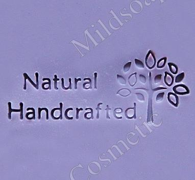 HANDCRAFTED SOAP STAMP 5.2 x 5.2 CM.