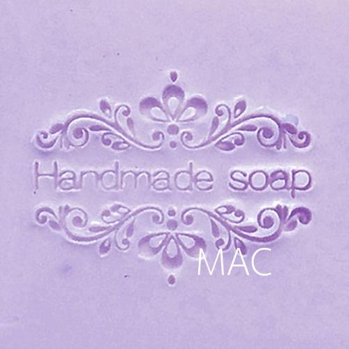 HANDMADE LOUIS SOAP STAMP 4.2 x 4.2 CM.