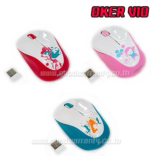 V10 OKER 2.4GHZ 10m.WIRELESS MOUSE