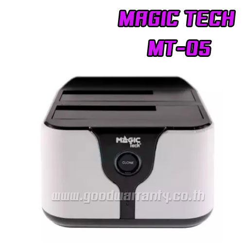 MT-05 HDD DOCKING USB 3.0 2.5/3.5 SATA สีขาว