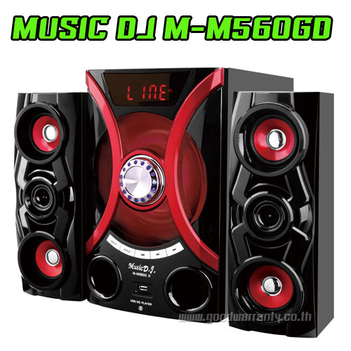 M-M560GD Speaker MUSIC D.J. BLUETOOTH FM/KA/CARD
