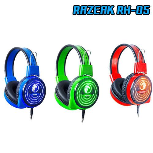 RH-05 RAZEAK HEADPHONE+MIC ไฟ