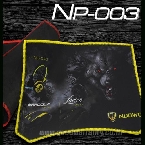 NP-003 NUBWO MOUSEPAD GAMING