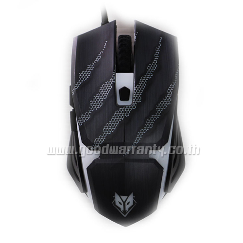 NM-078C สีดำ NUBWO BATTLE Optical USBMouse2400DPI