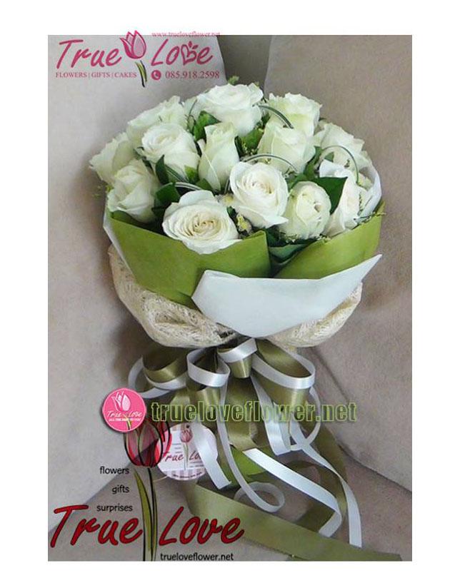 V008 : Right Here (24 roses)