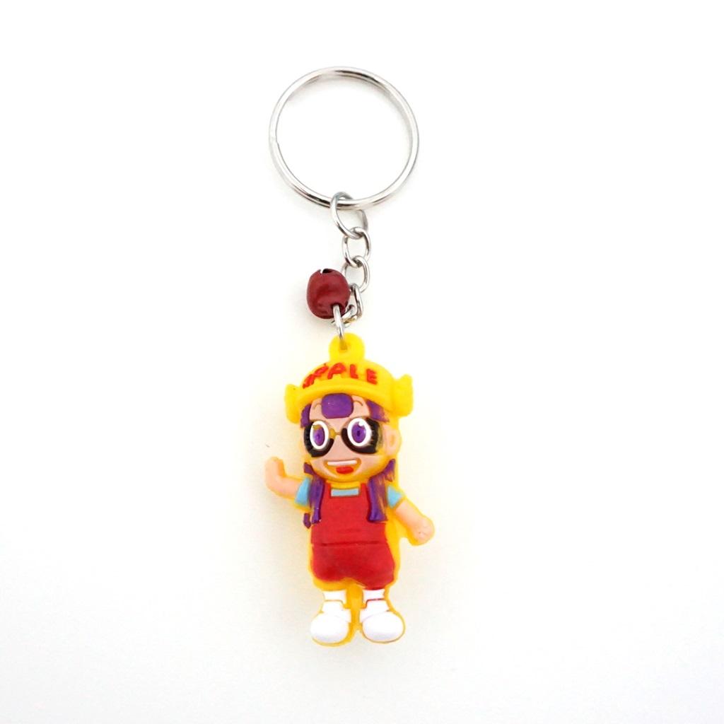 พวงกุญแจยาง อาราเล่(สีเหลือง) 12อัน