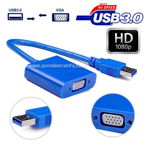 MN078 USB V.3.0 Cable TO VGA(F)