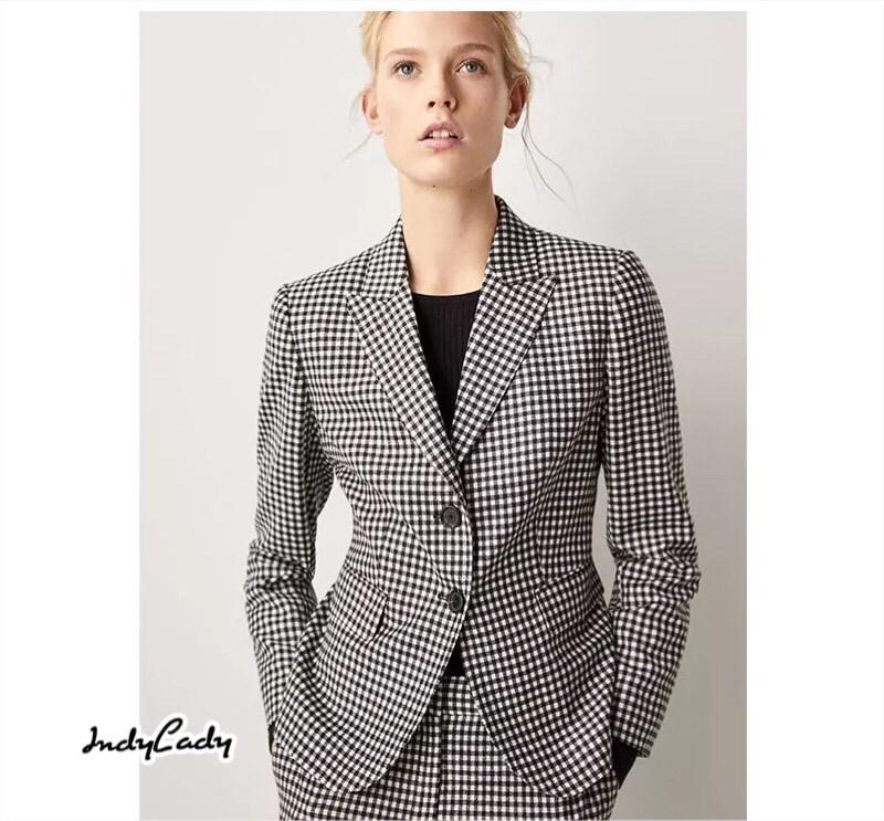 เสื้อสูท ลายสก๊อตทรงสวย แพทเทิร์นสวย หมวดหมู่ IndyLady SWEET