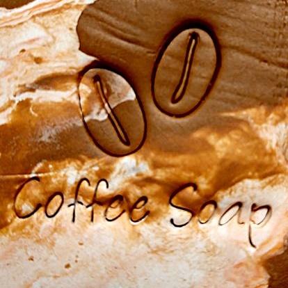 COFFEE SOAP STAMP 4 x 4 CM.