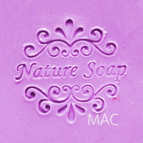 HANDMADE LOUIS 2 SOAP STAMP 5.2 x 5.2 CM.