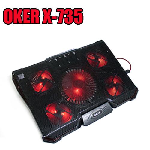 X-735 OKER FANNOTEBOOK 5FANไฟ