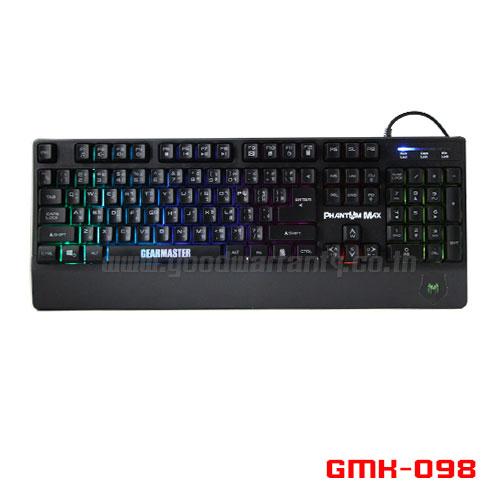 GMK-098 GEARMASTER K/B Gaming PHANTOM ไฟ 7 สี