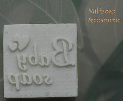 BABY SOAP STAMP4 x 4 CM.
