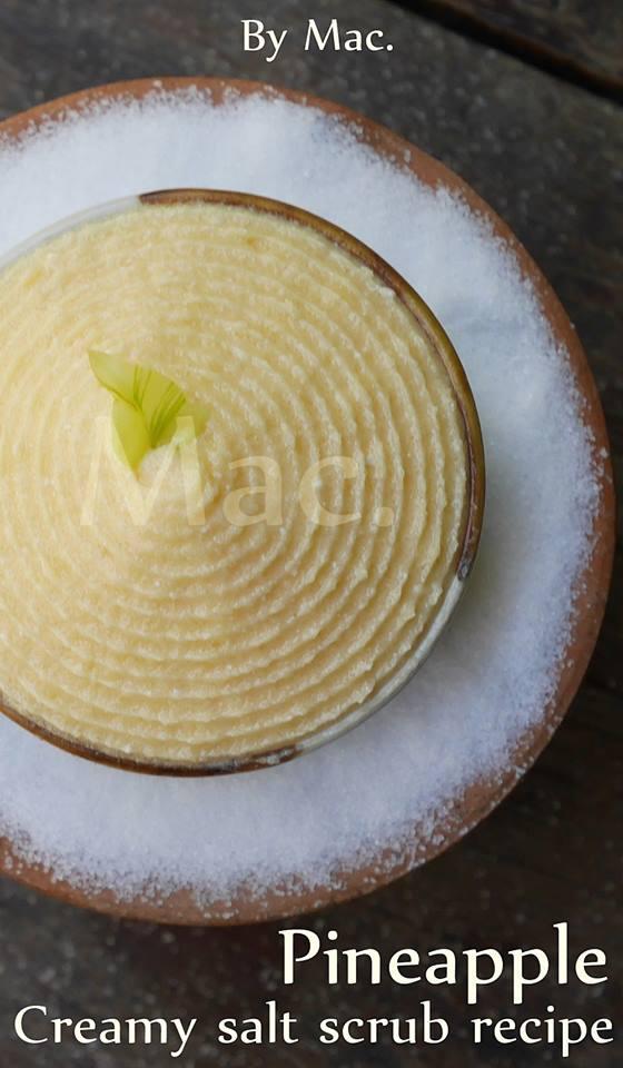 TANAKA COCO SALT SCRUB SET ชุดครีมมะพร้าวเกลือขัดผิวผสมทานาคา /สีเหลือง /กลิ่นสัปประรด 1400 กรัม/ พร้อมเอกสารประกอบ