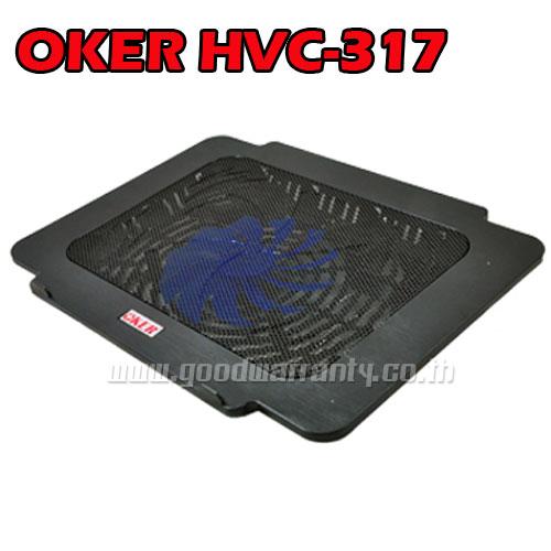 HVC-317 OKER Big FAN NOTEBOOK มีไฟ