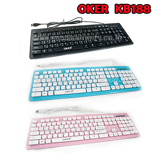 KB-188 OKER KEYBOARD USB