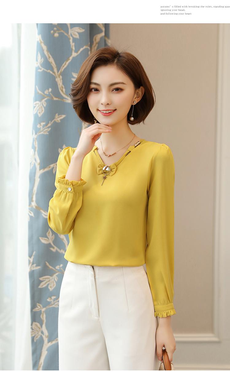 เสื้อสีเหลือง เสื้อผ้าชีฟองสีเหลือง ผ้าชีฟองเนื้อดีมากๆๆค่ะ สีเหลืองมัสตาร์ด