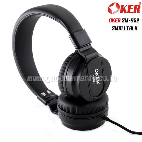 OKER SM-952 SMALLTALK สีดำ
