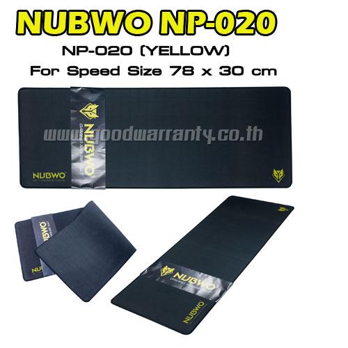 NP-020 NUBWO MOUSEPAD GAMING