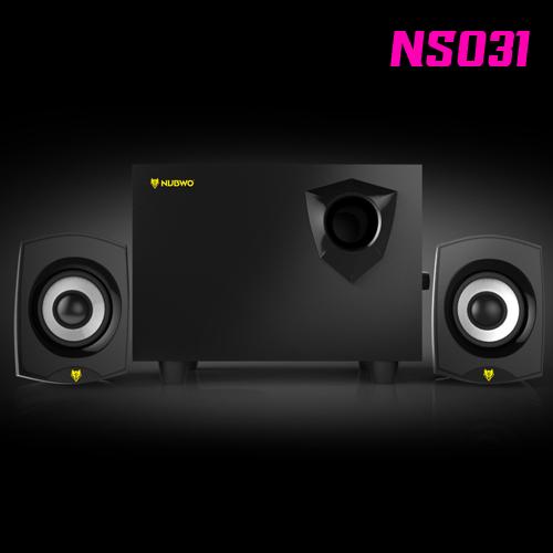 NS031 NUBWO2.1ch Speaker USB สีดำ