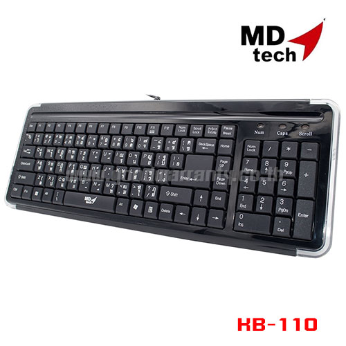 KB-110 MD-TECH KEYBOARD USB
