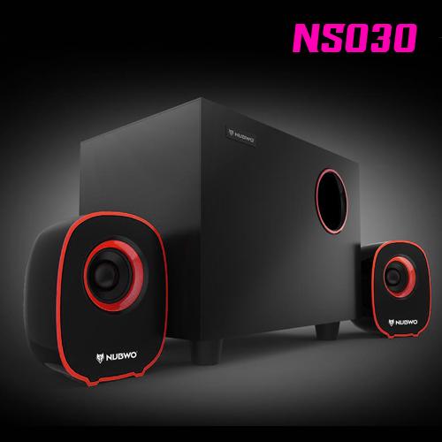 NS030 NUBWO2.1ch Speaker USB/5W สีแดง