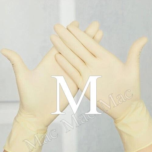 ถุงมือแพทย์ (ยางธรรมชาติ) 5 คู่ ขนาด M