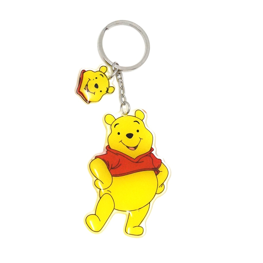 พวงกุญแจอะคริลิค หมีพูห์ 12อัน