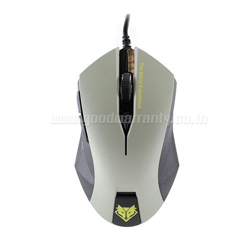 NM-019 สีเทา NUBWO Optical USB Gaming Mouse