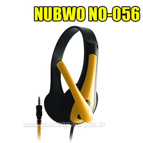 NO-056 NUBWO HEADPHONE+MIC