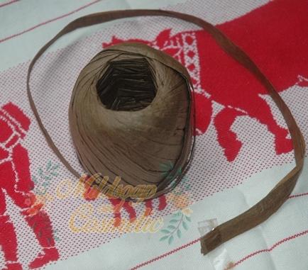 สีโกโก้เชือกจากต้นปาล์ม ชนิดแบน 5 เมตร