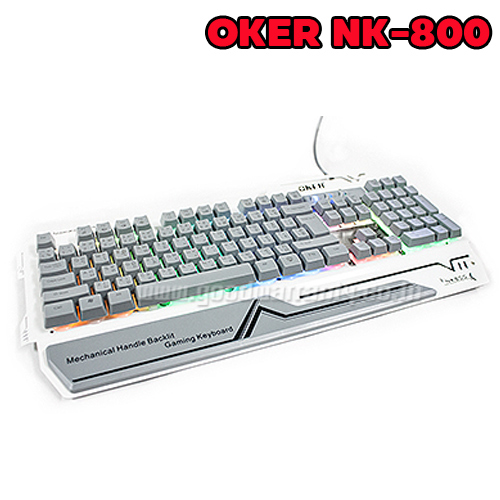 NK-800 OKER KEYBOARD USB MECHANICAL BACKLIGHT