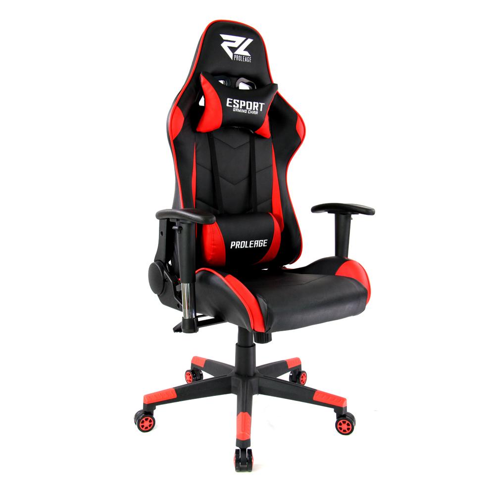 เก้าอี้ เกมมิ่งProleage ERGONOMIC GAMING CHAIR รุ่น PL-101 สีแดง
