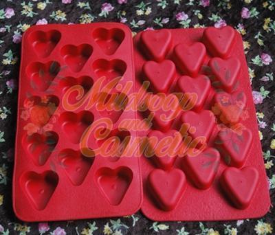 พิมพ์ซิลิโคน TEE HEART 10 กรัม / 14 หลุม