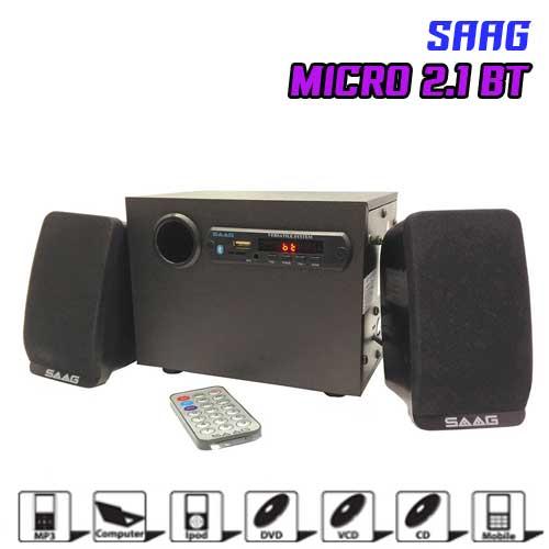 MICRO 2.1 Bluetooth SAAG Speaker 800w.