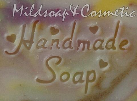 HANDMADE CLASSIC SOAP STAMP 3 X 4.7 CM.