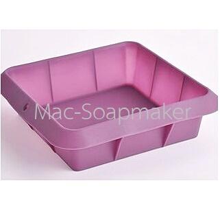 พิมพ์สบู่ซิลิโคน SOAP TRAY BOX 2000 / 23 X 23ซม. /สูง 6.5ซม.