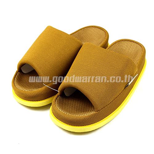 REFRE OKAMURA ขนาดเท้าเบอร์ 40-45 ใส่กันได้หมด สีเหลืองเข้ม