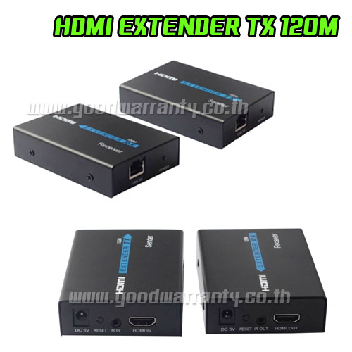 PC045 HDMI EXTENDER OVER SINGLE UTP CAT5e/6 Cable up to 120m.