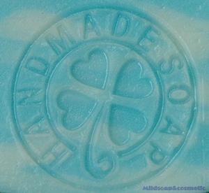 HANDMADE MAPLE SOAP STAMP 3.8 X 3.8 CM.
