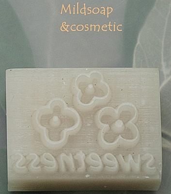 HANDMADE SWEETNESS SOAP STAMP 2.7 X 3.7 CM.