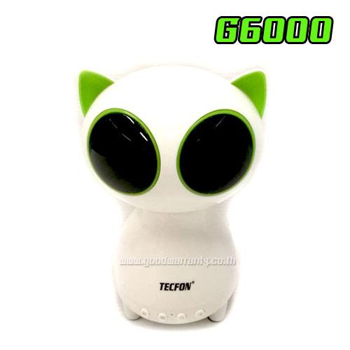 G-6000 CATWHITE TECHFON SPEAKER BLUETOOTH