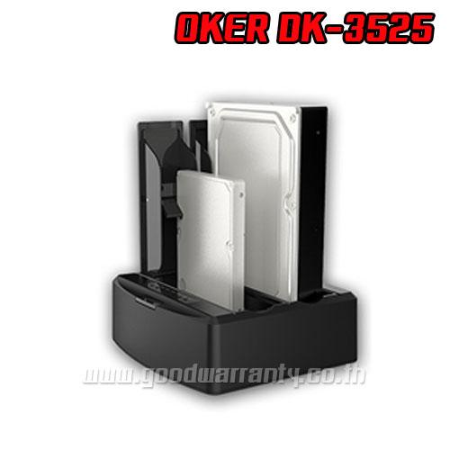 """OKER DK3525 DUAL HDD2.5""""/3.5"""" USB3.0 SP6TB"""