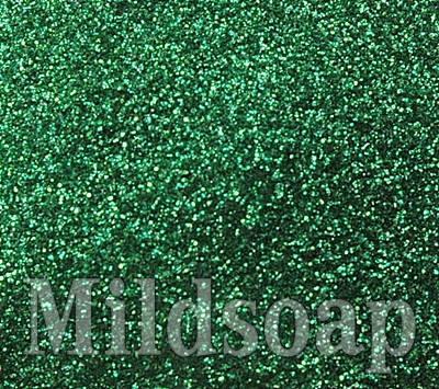 GREEN GLITTER สีเขียวผงกากเพชร
