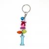 พวงกุญแจตัวอักษร I สีฟ้า(แบบเล็ก) 12อัน