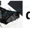 กางเกงในซีทรูBikini สีดำ