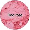 Red rose mica pearlescent pigment/ สีแดงกุหลาบประกายมุก / สีไมก้า