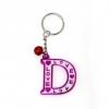 พวงกุญแจตัวอักษร D 12อัน