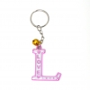 พวงกุญแจตัวอักษร L 12อัน